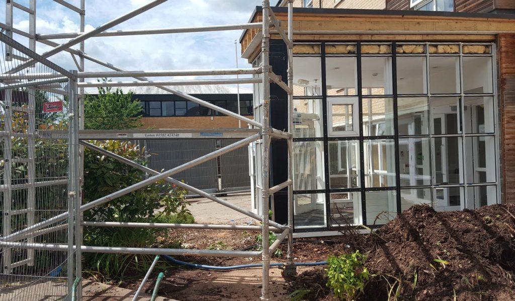Remodelling has started at Bramley Court