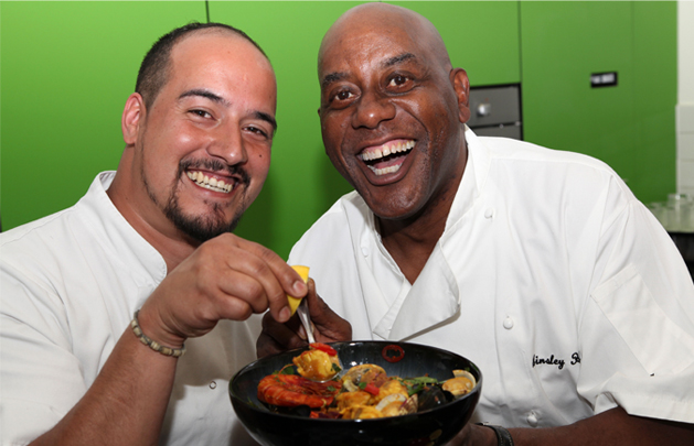 Ainsley Harriott Inspires Our Chef