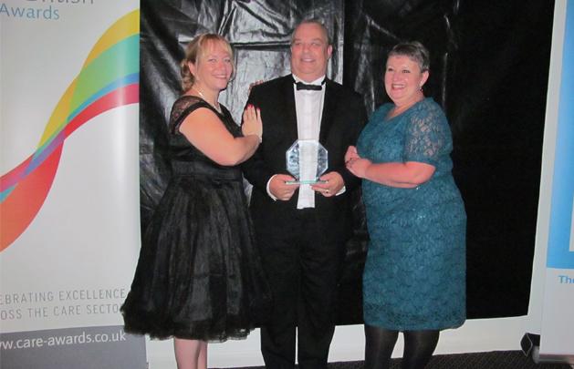 Bramley Court Care Home Activities Coordinators win top award