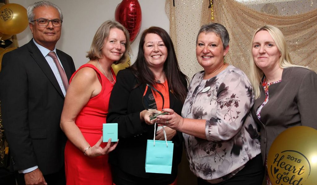 Local carer awarded 'Heart of Gold'